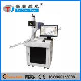 Gebied 300mmx300mm van de mening 30W de Laser die van het Metaal van de Vezel Machine merken