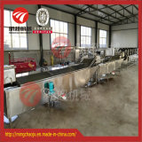 Stainless Steel Belt Precooking Machine gold Pasteurizing for Food Industrial Uses