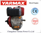 Yarmax空気によって冷却される単一シリンダーYm190f 10HP 11HP海洋の使用のディーゼル機関