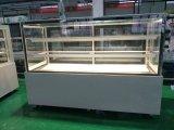 Refrigeradores de bolo vitrina de exposição de padaria