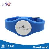 Bracelet de silicones d'IDENTIFICATION RF de l'électronique 13.56MHz NFC Ntag213 pour le contrôle d'accès