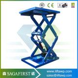 table élévatrice hydraulique de véhicule de ciseaux du camion 3ton-5ton