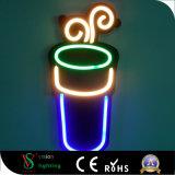 Chapa de acrílico Neon Flex LED publicidade para decoração de Barra