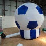 ブロアが付いている膨脹可能な広告の気球