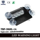 Indicatore luminoso d'avvertimento del nuovo di disegno di triplo precipitare di colore LED per il parabrezza dell'automobile