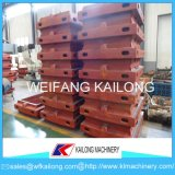 Prodotto di modellatura di modellatura del contenitore di macchina dell'alto pezzo di produzione