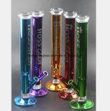 5 cores da tubulação de vidro do cachimbo de água tubulação do vidro de 17.7 polegadas