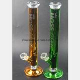 5 de kleuren van de Waterpijp van het Glas leiden de Pijp van het Glas van 17.7 Duim door buizen