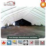 De Gebogen Tent van de Hangaar van Vliegtuigen TFS Tent voor de Openlucht Mobiele Helikopter van de Vliegtuigen van het Stadion