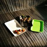 Cassetto di plastica a gettare della frutta del commestibile di colore differente pp della cassaforte