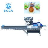 Verpakkende Machine van Mooncake Maamoul van het Voedsel van het Hoofdkussen van het roestvrij staal de Automatische Horizontale