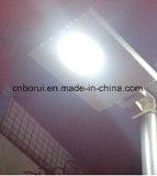 Smart LED intégré de tous dans une rue lumière solaire 20-100W