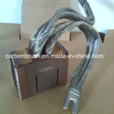 AC/DCモーターCM5Hのための販売の金属のグラファイトのカーボン・ブラシ