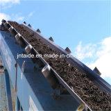 Miniera, pietra, nastri trasportatori di gomma Nn del tessuto del cemento della sabbia del PE Cc56 del PVC Pvg del nero d'acciaio di nylon del cavo