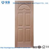 Hot vender la piel de la puerta de MDF de chapa para puerta interior precio barato