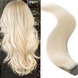 Band van de Hoogste Kwaliteit van de Kleur van de as de Blonde in de Uitbreiding van het Menselijke Haar (av-tp18-60)