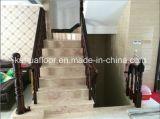 Pêche à la traîne d'escalier en bois solide de matériau de construction