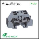 4 Conector de alimentação através da fixação de flanges de entrada lateral