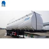 Tri-Asse dell'acciaio inossidabile dell'olio di palma 45000 litri dell'olio di trasporto di rimorchi dell'autocisterna