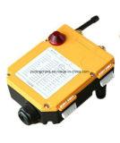 Control remoto de multi canal 6, F24-6D 6 de 2 velocidades los botones de radio control remoto inalámbrico de la grúa grúa Controller