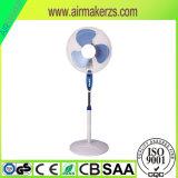 16 pulgadas de Metal industrial eléctrico del ventilador de pedestal de soporte de plástico