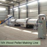 Ampliamente utilizado de la planta de energía de biomasa de la línea de producción de pellets de aserrín