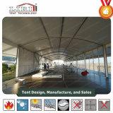 Tente ignifuge de double pont de tissu de PVC pour des événements sportifs