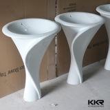 上の贅沢な固体表面の樹脂の石の浴室の衛生製品