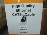 305m/Caja UPT Cat5e de LAN de datos 4 pares de cable de red