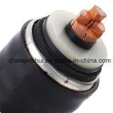 1 coeurs ou 3 conducteurs isolés en polyéthylène réticulé à haute tension du câble d'alimentation