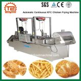 De geautomatiseerde Diepe Bradende Machine van de Kip van Fryerscontinuous Kfc