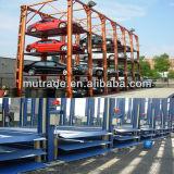 Подъем стоянкы автомобилей штабелеукладчика автомобиля 4 столбов гидровлический для хранения автомобиля