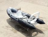 Barco de pesca inflável rígido de Aqualand 16feet 4.7m/barco de motor (RIB470B)