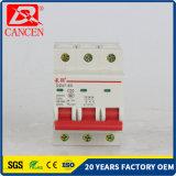 Sicherungs-volle Materialien des Massen-Leckage-Schutz-6A 10-32A 40-63A 1p 2p 3p 4p MCB für kupfernen Ring, silberner Kontakt, feuerfestes Plastikshell