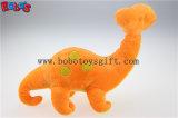 Knuddeliges angefülltes grünes Baby-Dinosaurier-Tier mit Stickerei Bodybos1195