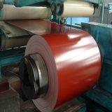 Lo zinco del materiale da costruzione ha ricoperto la bobina d'acciaio galvanizzata preverniciata PPGI del galvalume per il tetto del metallo