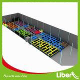 Trempolines d'intérieur adaptés aux besoins du client de grands enfants de Sommercial