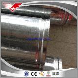 Caliente BS1387-1985 sumergido galvanizado alrededor del tubo