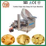 Macchina profonda della friggitrice dell'olio del gas dei chip di tortiglia del ristorante degli alimenti a rapida preparazione della strumentazione
