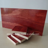 Precio competitivo de la construcción de madera contrachapada de color rojo la película enfrenta utilizado para encofrados