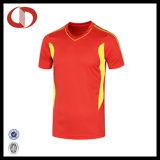 卸し売り安い価格のカスタムサッカージャージー中国製