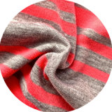 Poly / Spandex Yean Dyed Stripe Jersey (QF13-0668)