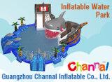 Épave échouée Commercial géant gonflable Parc de l'eau pour les sports nautiques CHW1115