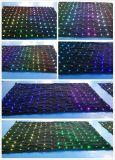 Beleuchtung-Anblick-Vorhang P18 des 2*3m Disco-Licht-Vorhang-LED