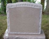 A Polónia Monumento Estilo Headstone Granito Tombstone