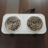 нержавеющая сталь катушки 2 горелки электрические плиты для приготовления пищи горячим пластину