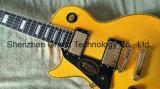 Kits de guitare de DIY LP / Grand Musique / Lp guitare électrique avec de l'Ébène poutre en jaune (BPL-138)