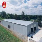 Cloche soudée de construction d'usine d'atelier de fabrication de la structure métallique Q345