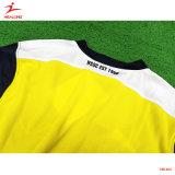 Healongの青年スポーツの摩耗のフットボールのサッカーのトレーニングのワイシャツの摩耗