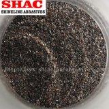 Brown-Korund-, Aluminiumoxyd-Puder und Sand